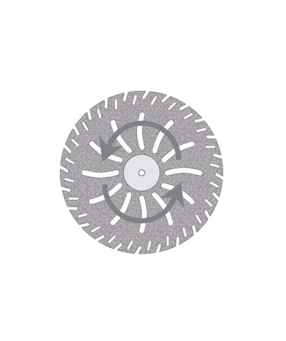 Disques diamants 378524.450HP