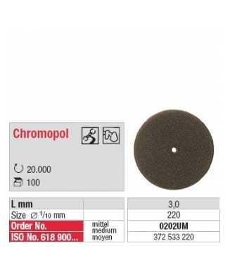 Chromopal non monté brun