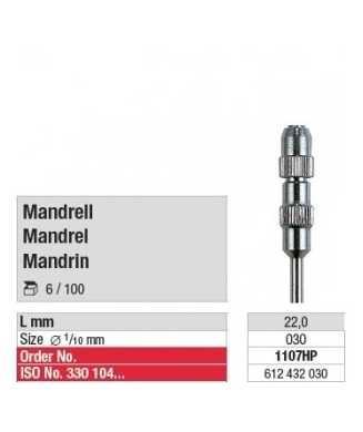 MANDRIN polissoir occlupol 1107HP