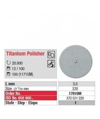 Titanium Polisher 1701UM