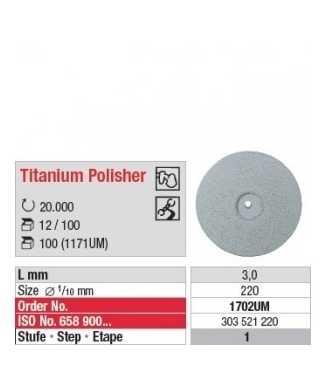 Titanium Polisher 1702UM