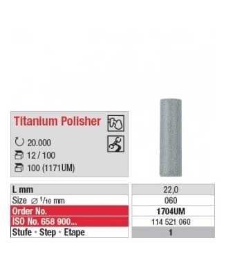 Titanium Polisher 1704UM