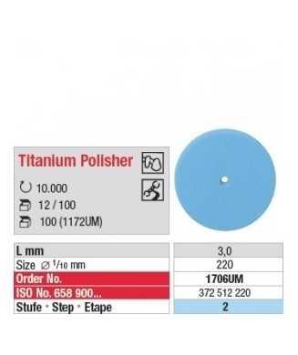 Titanium Polisher 1706UM