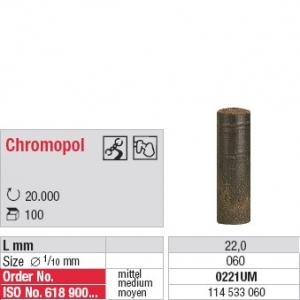 Chromopol non monté brun
