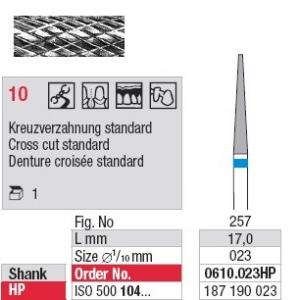 Denture 10 - Denture croisé grosse moyenne 0610.023HP