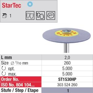 Polissage céramique StarTec – Grain moyen ST1530HP