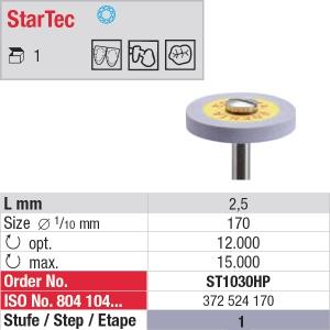 Polissage céramique StarTec – Grain moyen ST1030HP