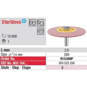 Plissage céramique StarGloss – Grains moyen R1530HP